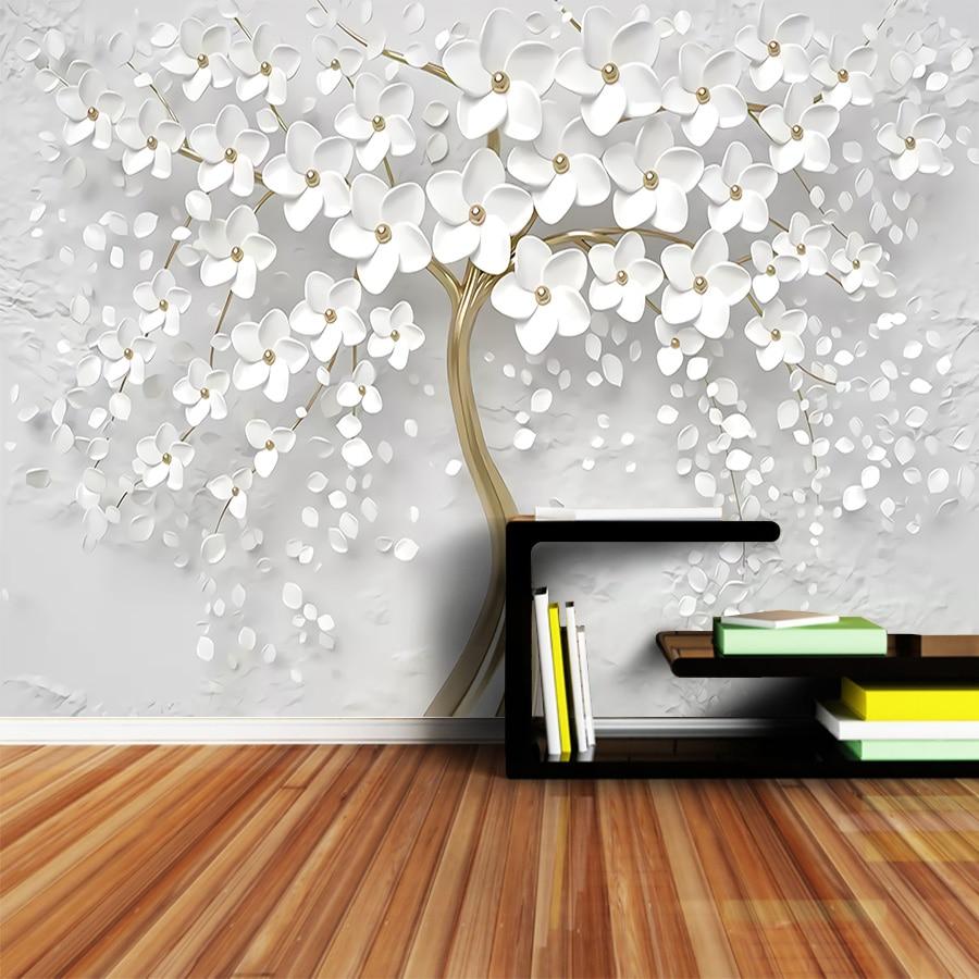 Living Room Murals Uk Modern Wallpaper Wall Design - Modern