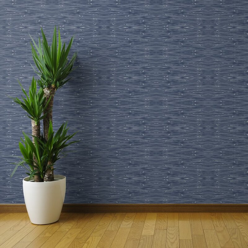 Levenson Dark Blue Woodgrain Removable Wallpaper Blue Wallpaper Peel And Stick 800x800 Download Hd Wallpaper Wallpapertip