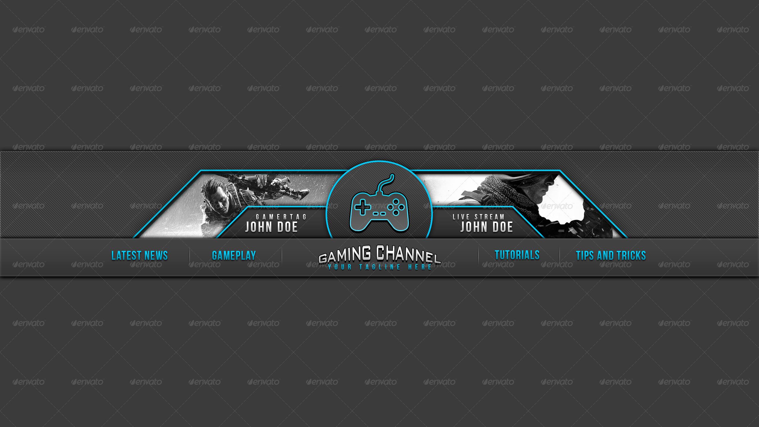 Banner Youtube Gaming Polos 2560x1440 Download Hd Wallpaper Wallpapertip