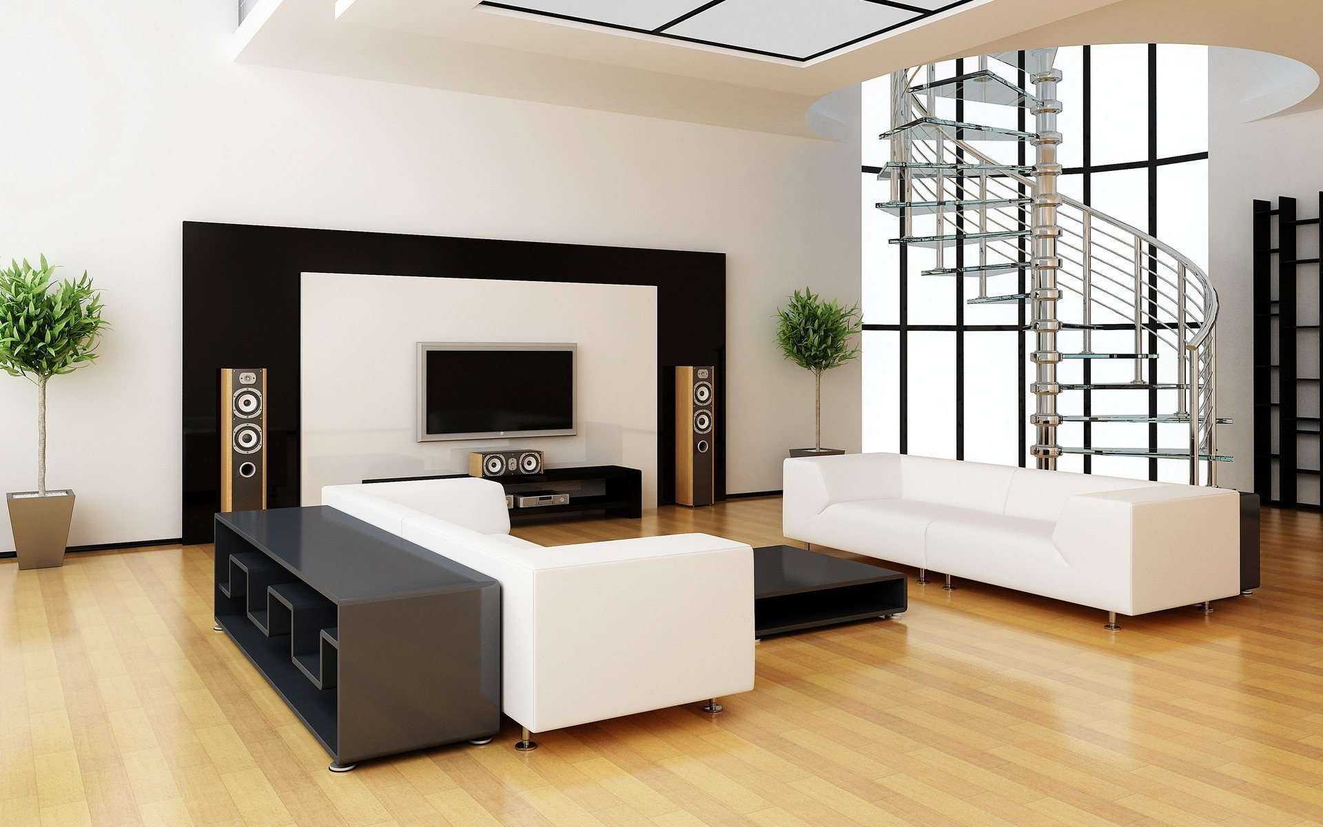 Beautiful Home Wallpapers For Free Download Hd Interior Contemporary Minimalist Living Room 1920x1200 Download Hd Wallpaper Wallpapertip