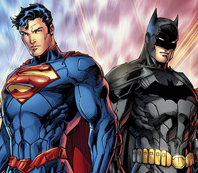 Image result for batman and superman comic