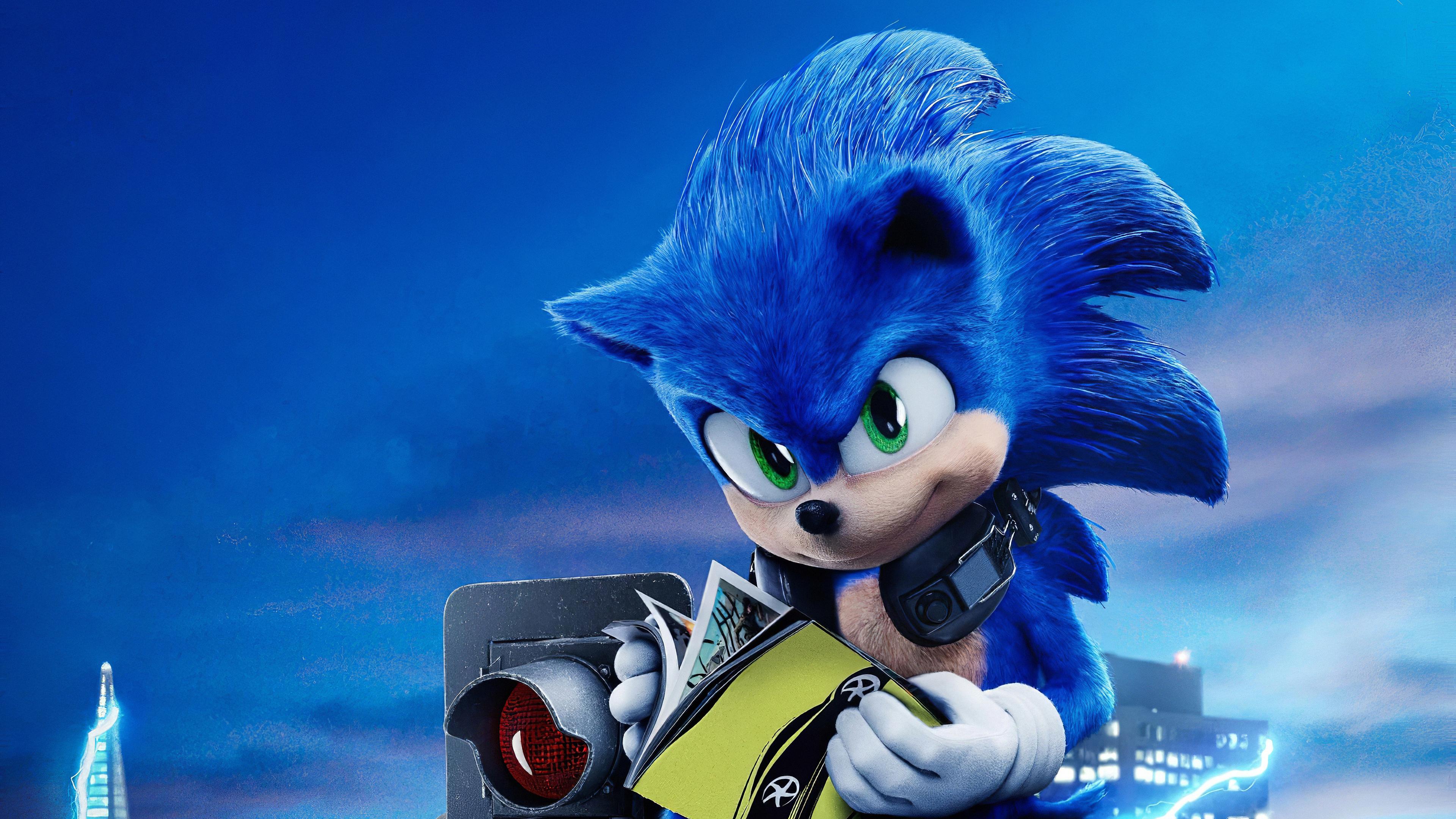 Sonic The Hedgehog 2020 Sonic The Hedgehog 3840x2160 Download Hd Wallpaper Wallpapertip