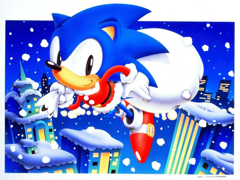Sonic Christmas 1024x768 Download Hd Wallpaper Wallpapertip