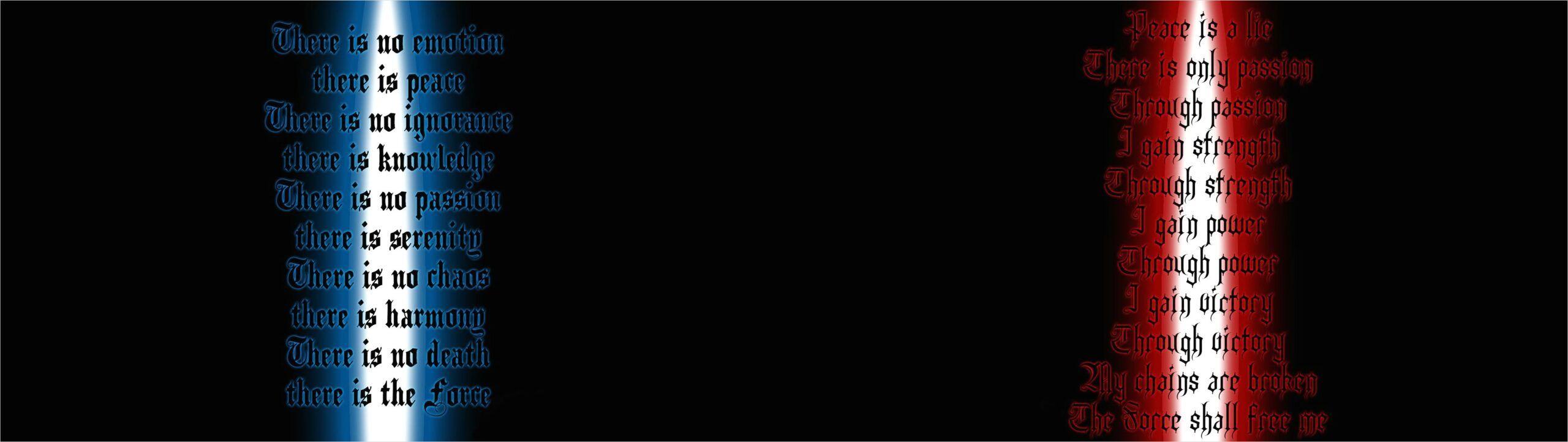 Sith Code 2560x721 Download Hd Wallpaper Wallpapertip