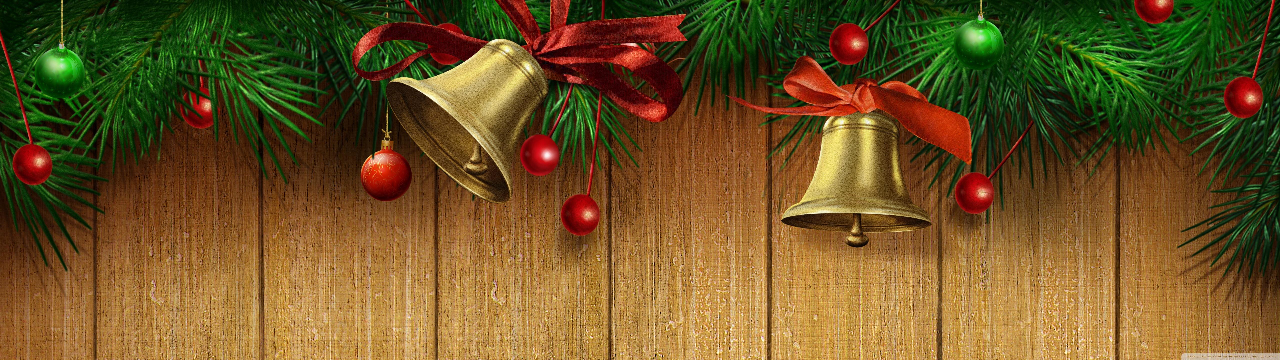 3840x1080 Christmas Wallpaper