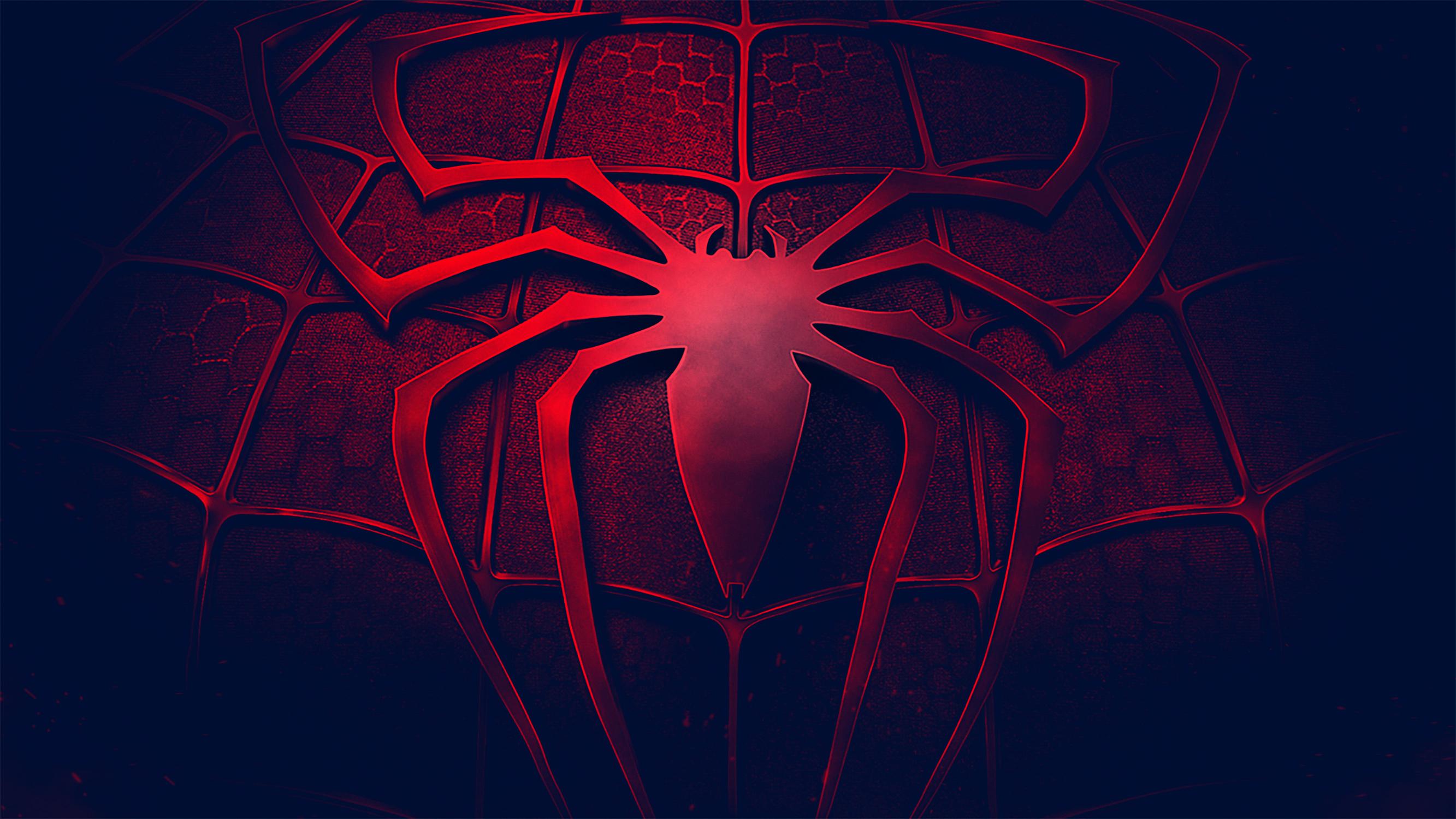 Logo Spiderman Wallpaper 4k - 2666x1500 - Download HD ...