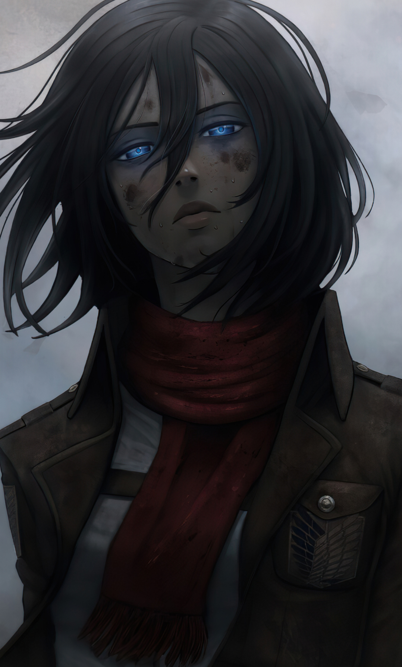 Mikasa Ackerman Wallpaper Hp 1280x2120 Download Hd Wallpaper Wallpapertip