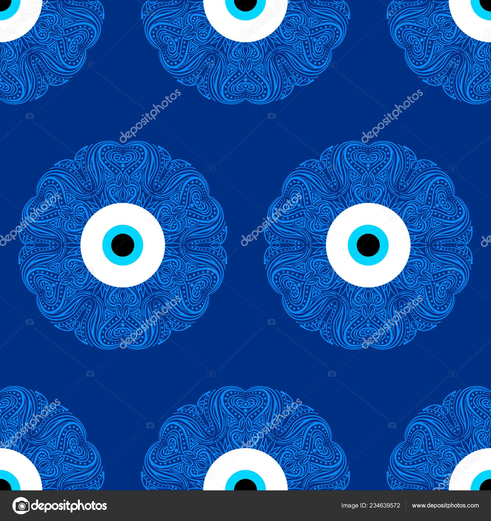 Seamless Pattern Turkish Evil Eye Bead Good Luck Turkish Fondos De Pantalla Para La Buena Suerte 1600x1700 Download Hd Wallpaper Wallpapertip