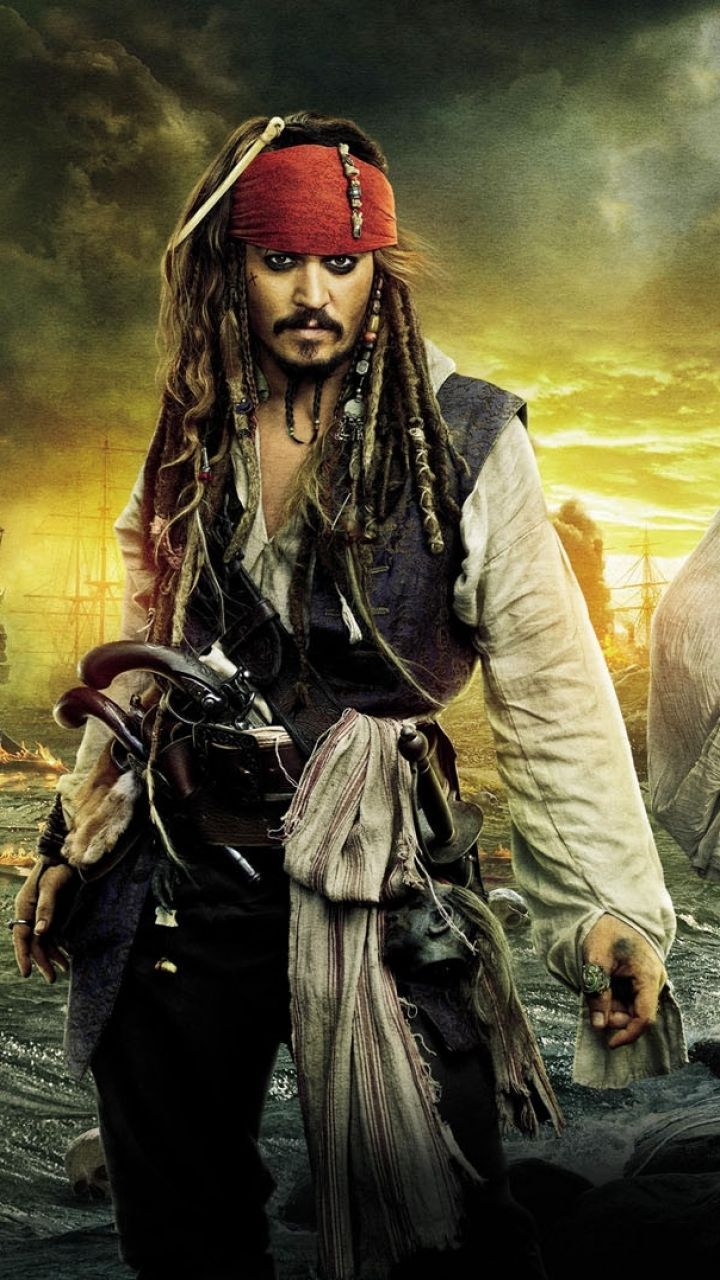 Pirates Of Caribbean Jack Sparrow 720x1280 Download Hd Wallpaper Wallpapertip
