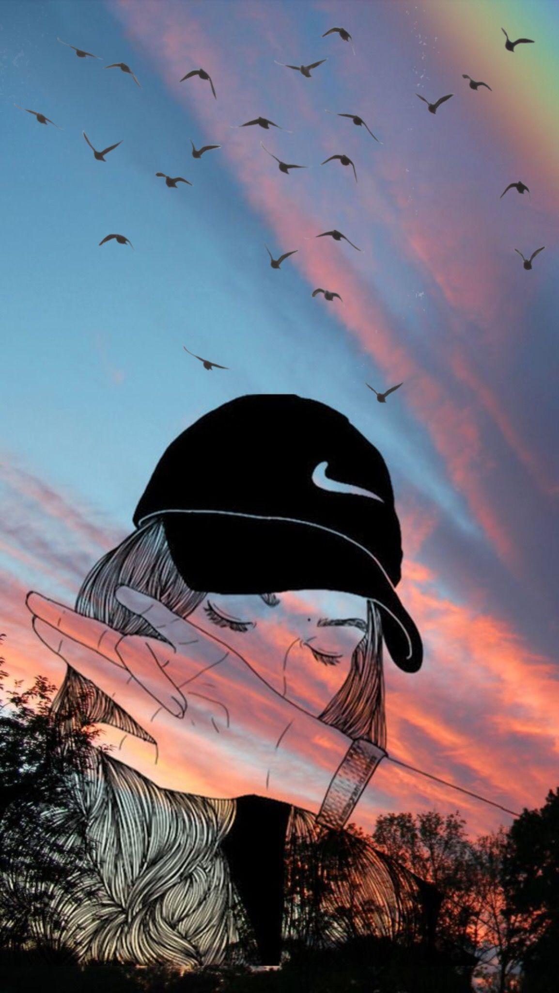 Nike Girl Hintergründe   Mädchen iPhone Wallpaper Tumblr ...