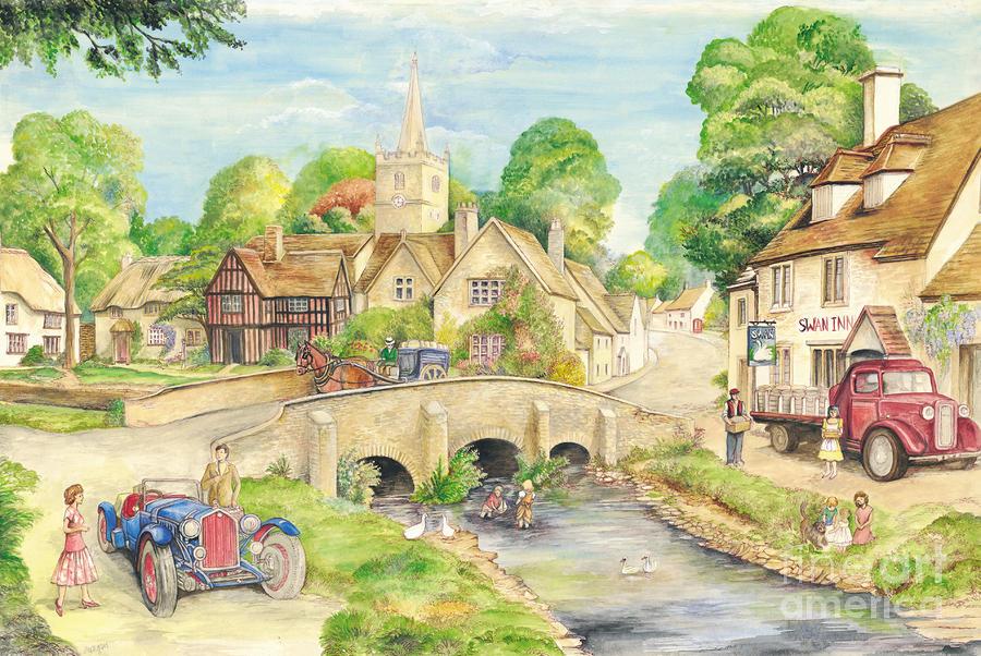 Old Village Village Nature Hd 900x602 Download Hd Wallpaper Wallpapertip