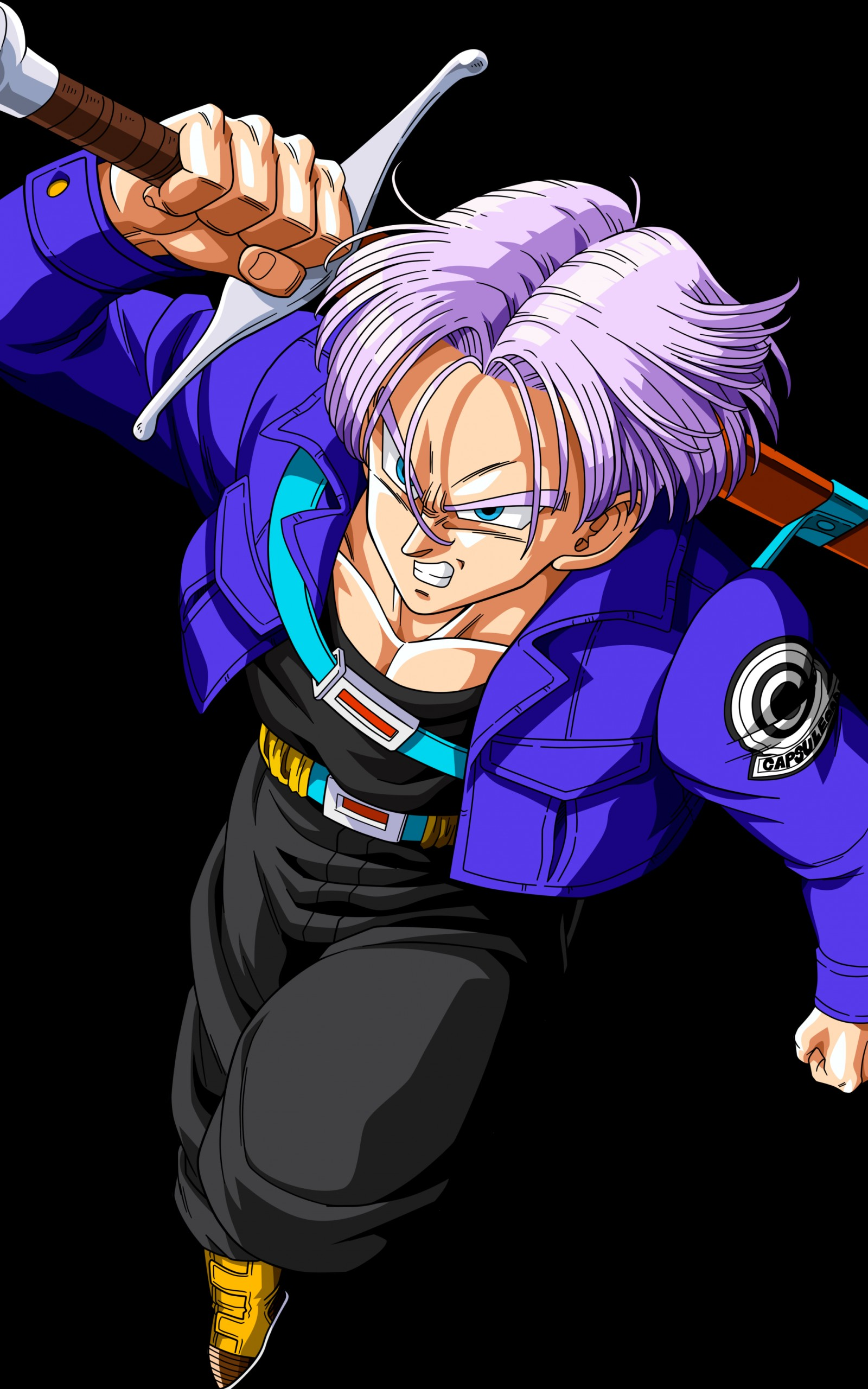 Download Future Trunks Keychain Future Trunks Kid Dragon Ball Z Trunks Wallpaper Hd 1600x2560 Download Hd Wallpaper Wallpapertip