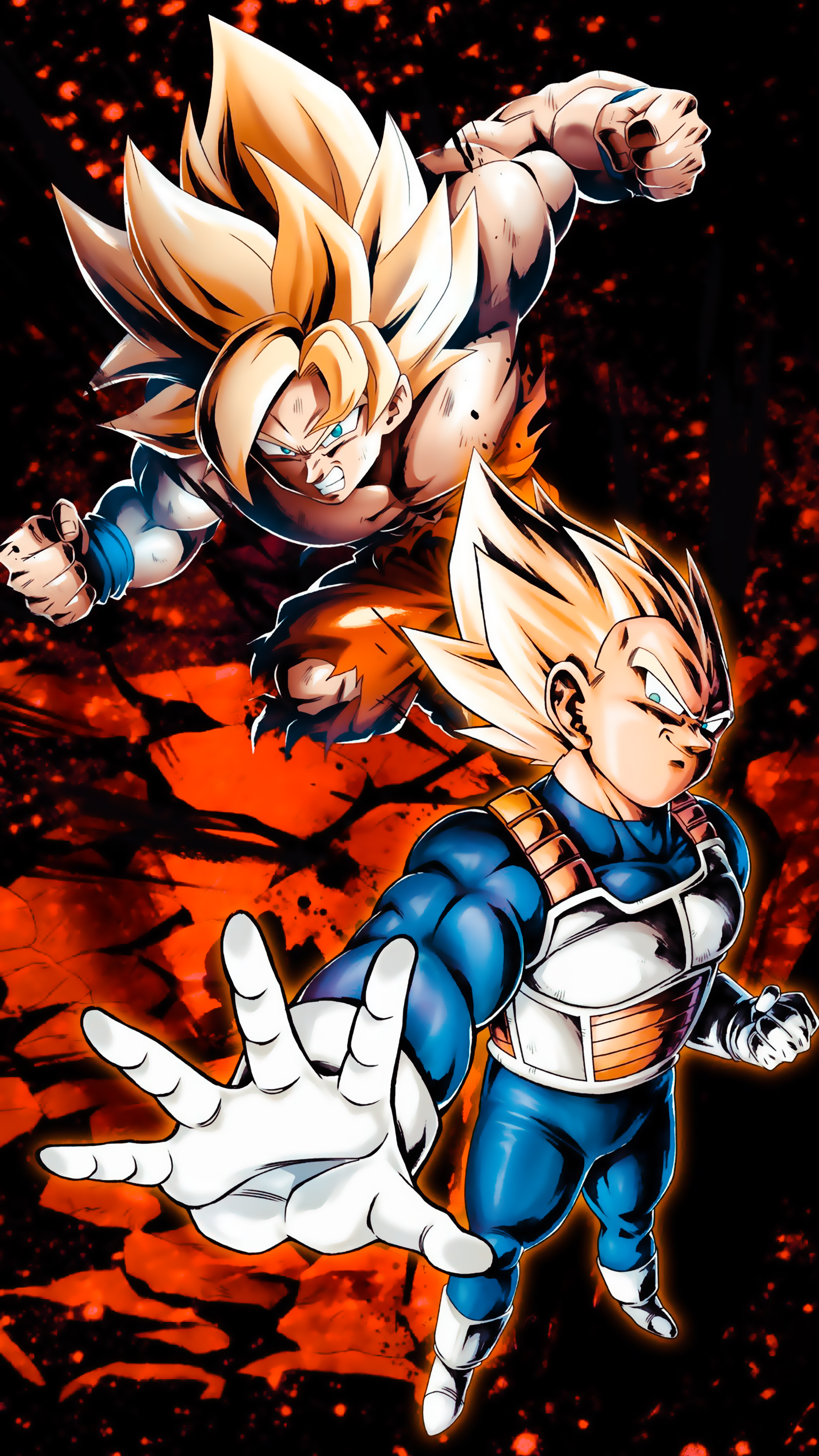 Goku Y Vegeta Wallpaper 4k 2160x3840 Download Hd Wallpaper Wallpapertip