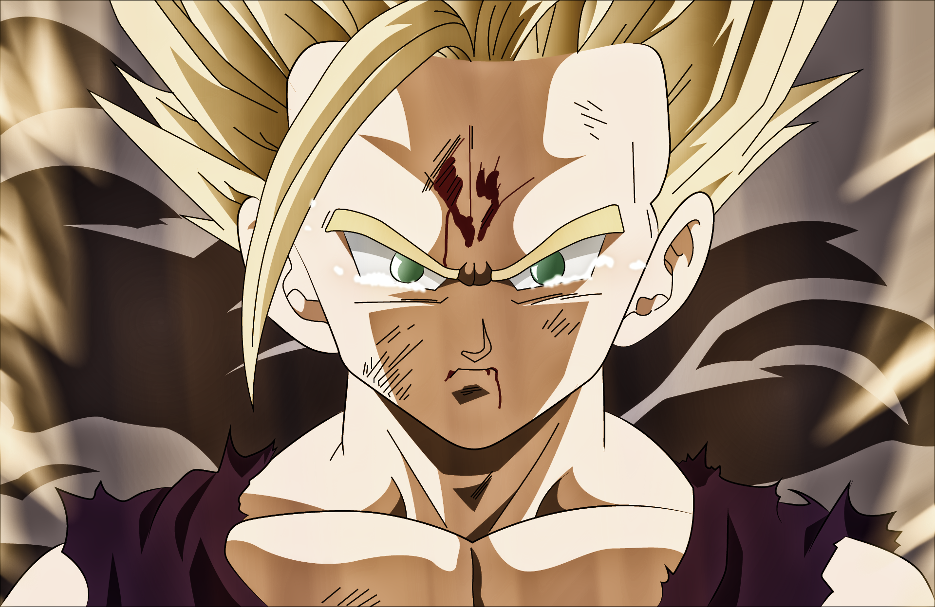 Teen Gohan Ssj2 Wallpaper Gohan Ssj2 1920x1248 Download Hd Wallpaper Wallpapertip