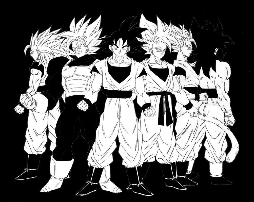 Goku Black And White Wallpapers Top Goku Black And Dragon Ball Black And White Wallpaper Phone 1003x796 Download Hd Wallpaper Wallpapertip