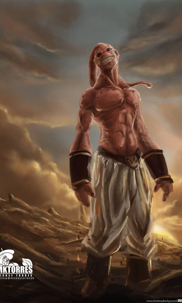 Download Dragon Ball Z Wallpapers Android Apps Apk Majin Buu Real Life 768x1280 Download Hd Wallpaper Wallpapertip