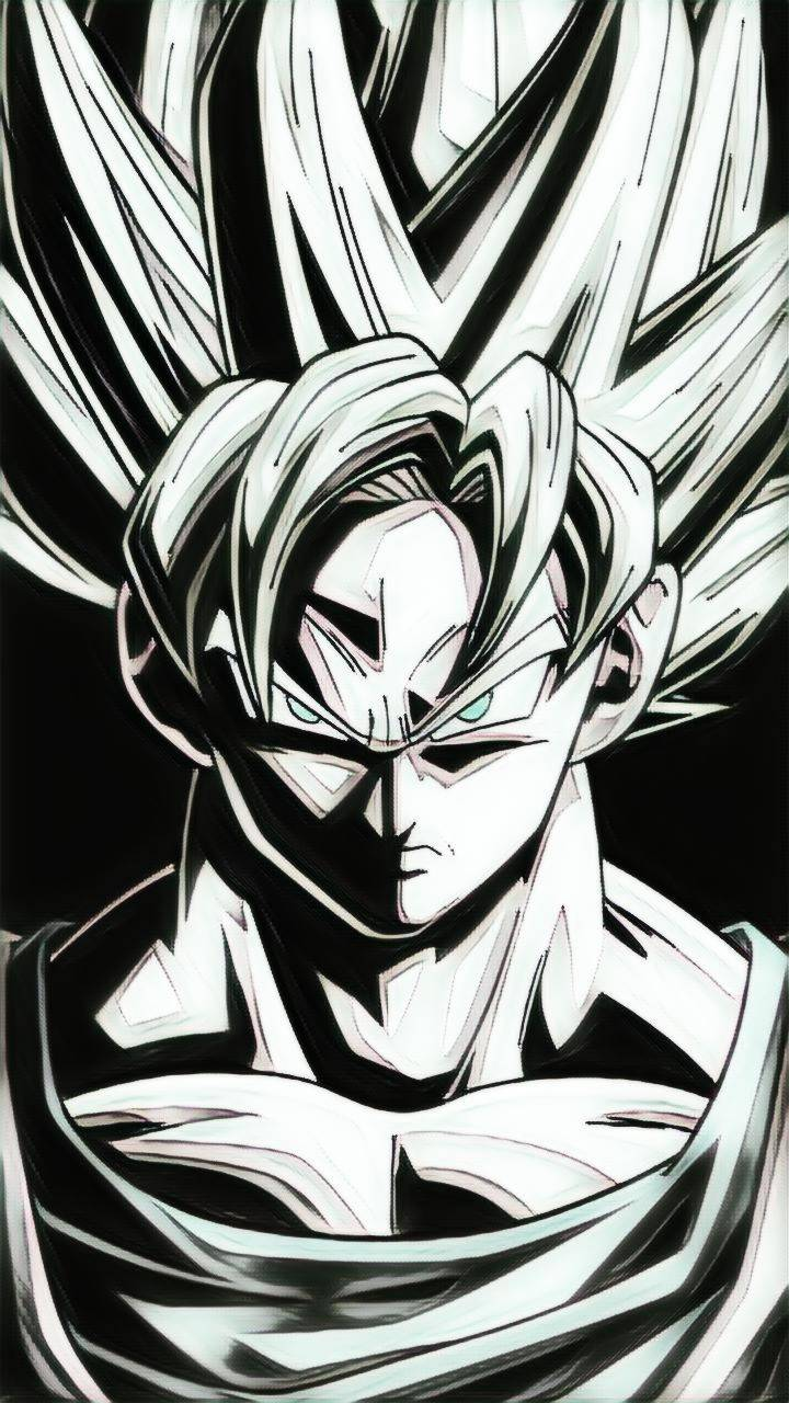 Goku Black And White Wallpapers Wallpaper Cave Dragon Ball Z Goku Black And White 720x1280 Download Hd Wallpaper Wallpapertip