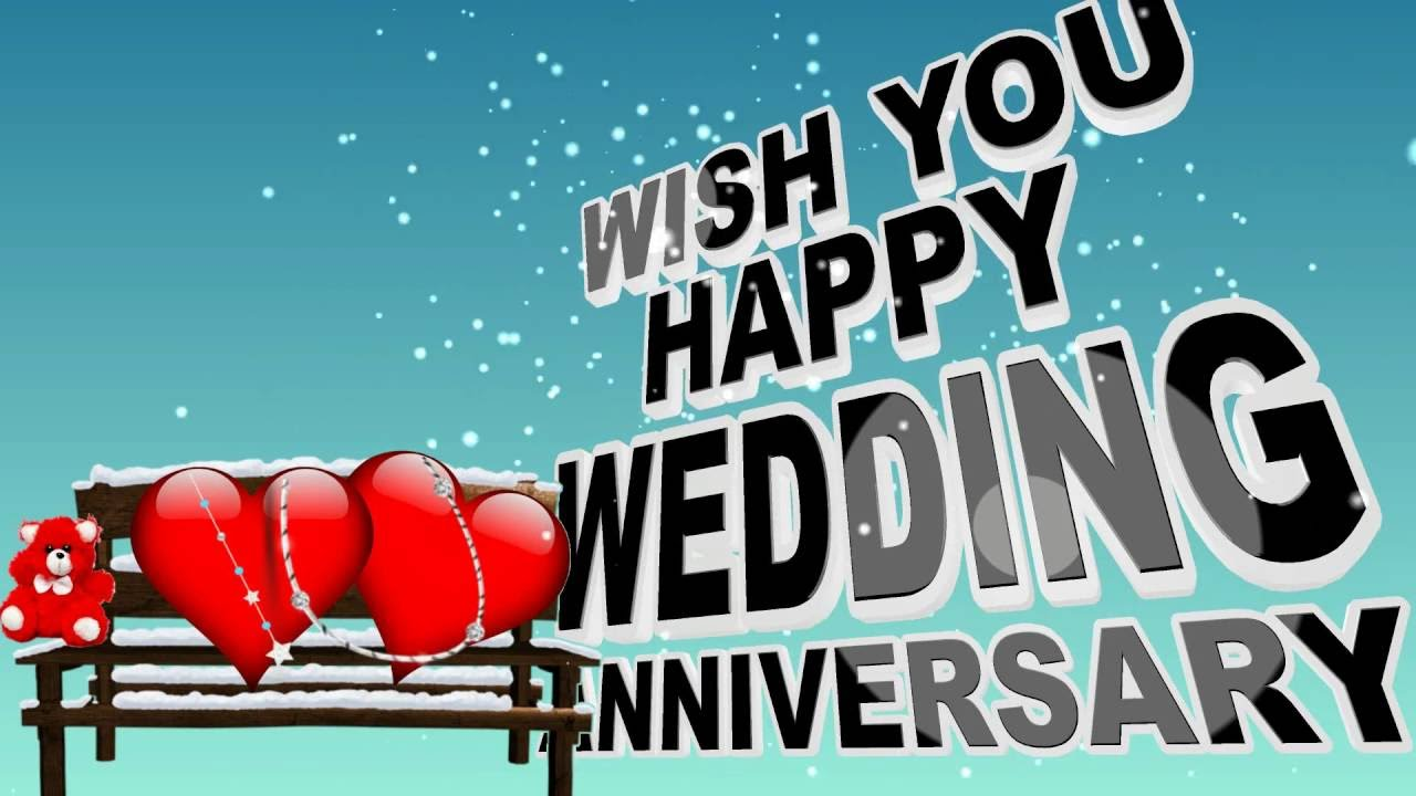 3rd Marriage Anniversary Images Happy Wedding Anniversary Wishes Animation 1280x720 Download Hd Wallpaper Wallpapertip