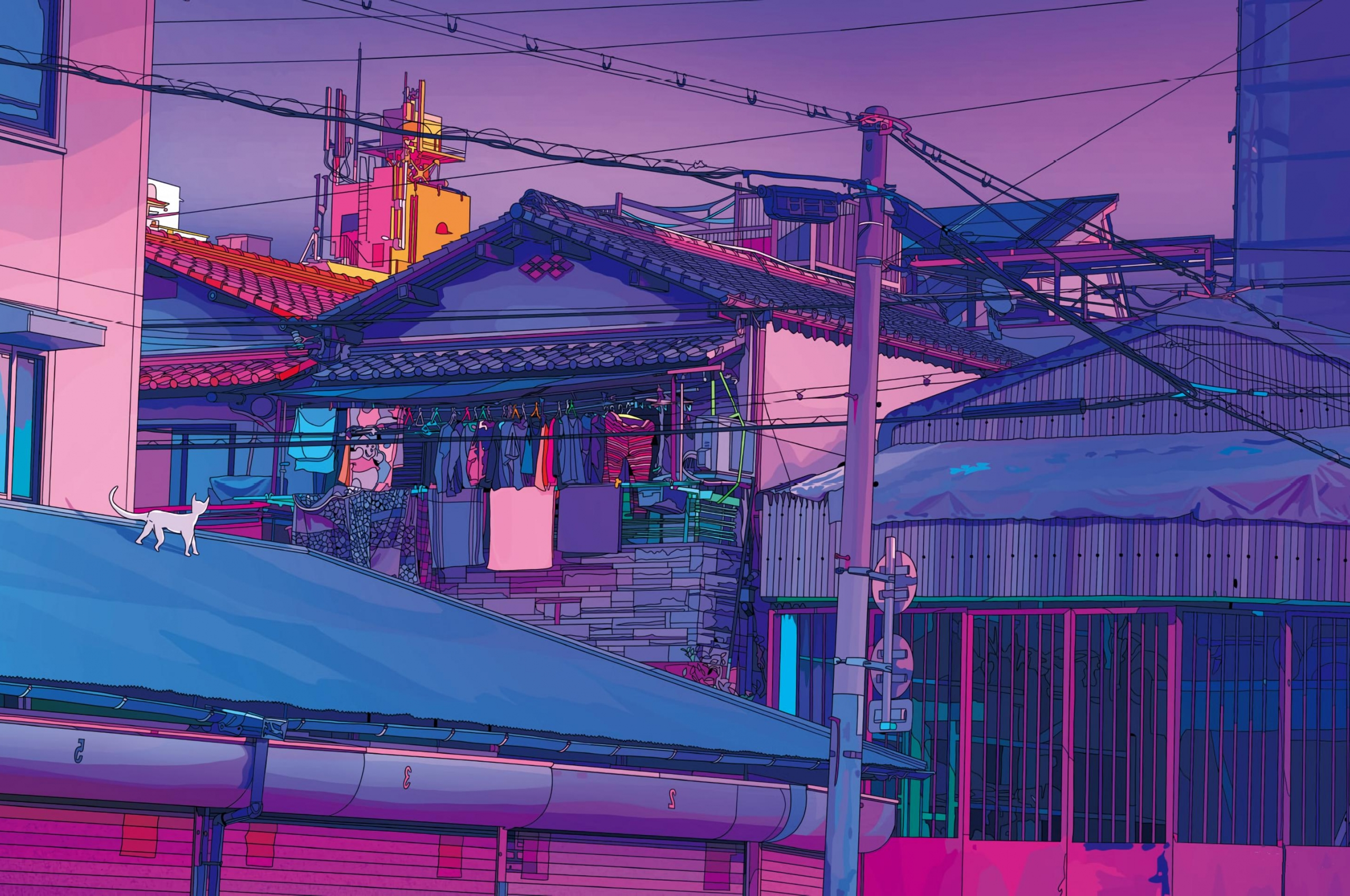 Aesthetic Tokyo 4k Wallpaper - Aesthetic Wallpaper Desktop ...