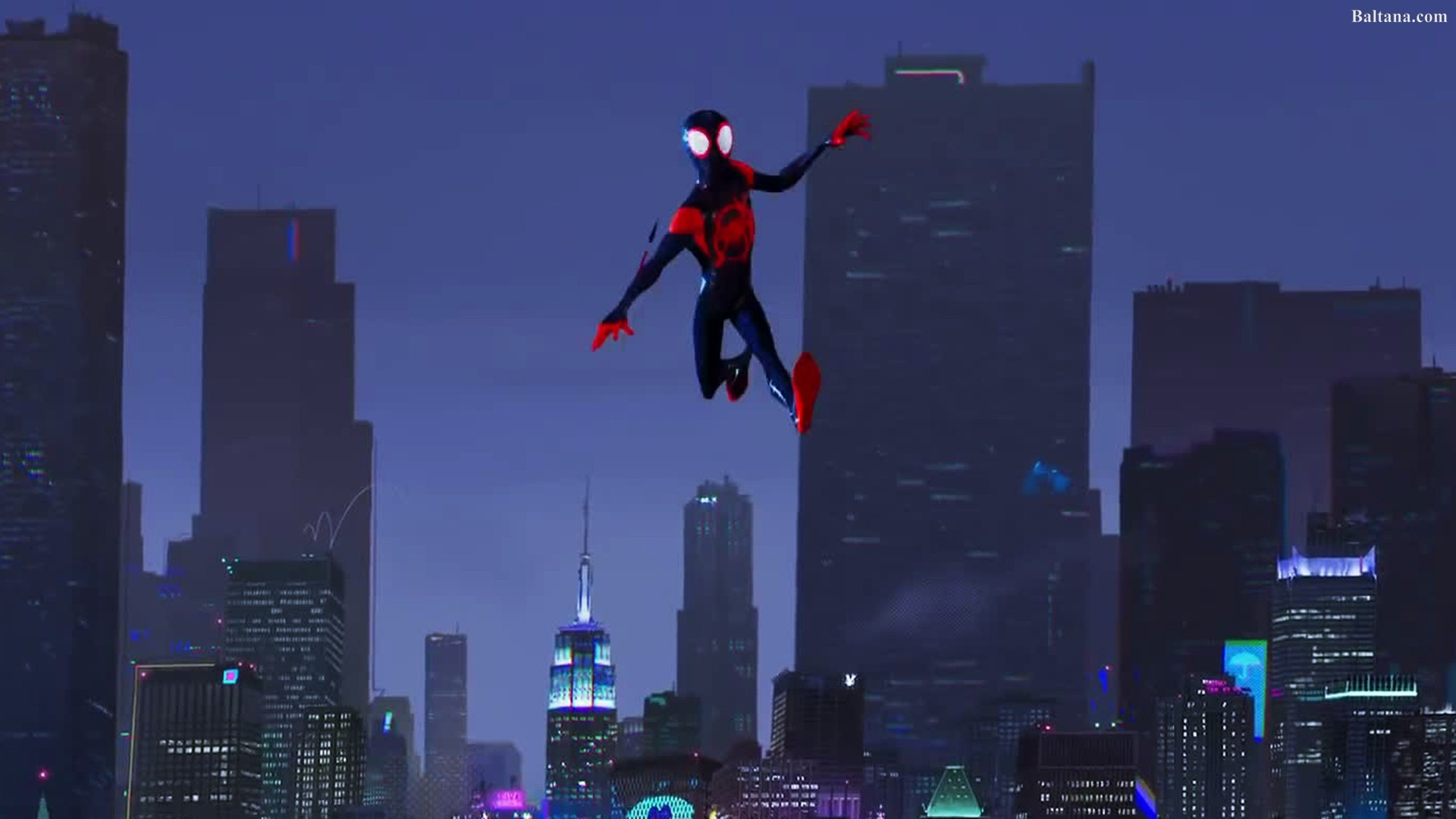 Spiderman Into The Spider Verse Animated Movie Hq Desktop Spider Man Into The Spider Verse Moving 1920x1080 Download Hd Wallpaper Wallpapertip