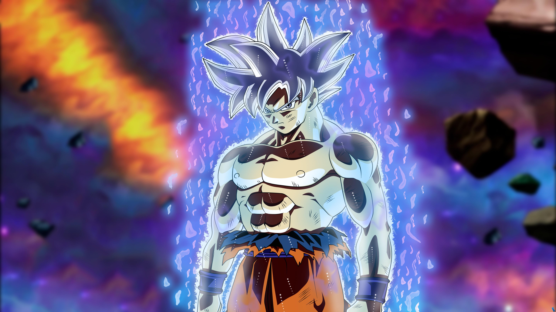 Ultra Instinct Goku Wallpaper Son Goku Ultra Instict Goku Ultra Instinct Mastered 5760x3240 Download Hd Wallpaper Wallpapertip