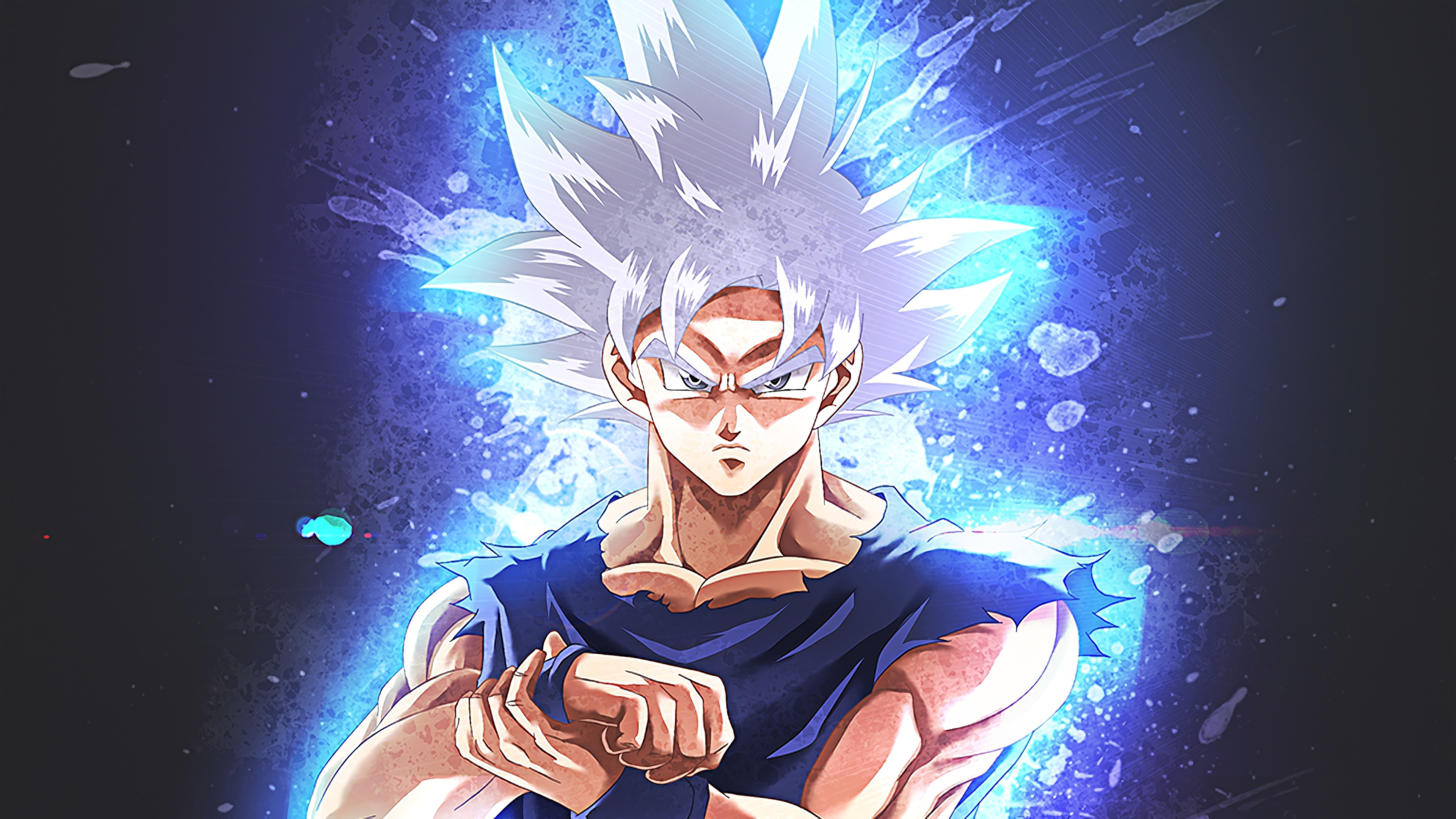 Goku Ultra Instinct 4k 3840x2160 Download Hd Wallpaper Wallpapertip