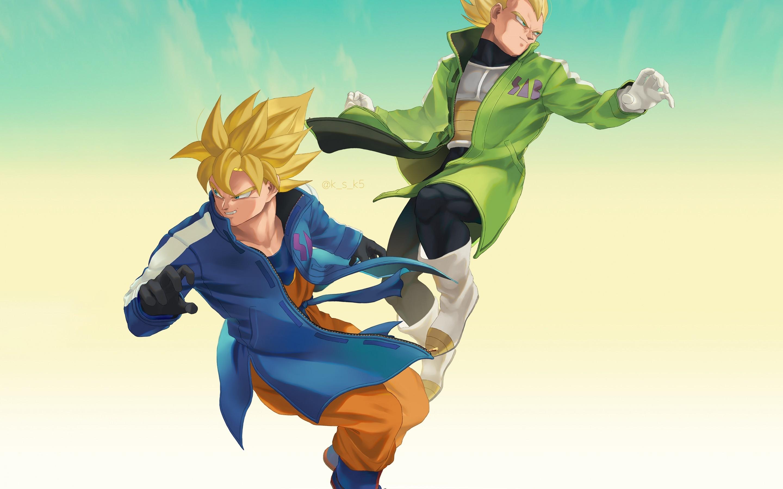 Dragon Ball Super Goku E Vegeta Dragon Ball Super Broly 2560x1600 Download Hd Wallpaper Wallpapertip