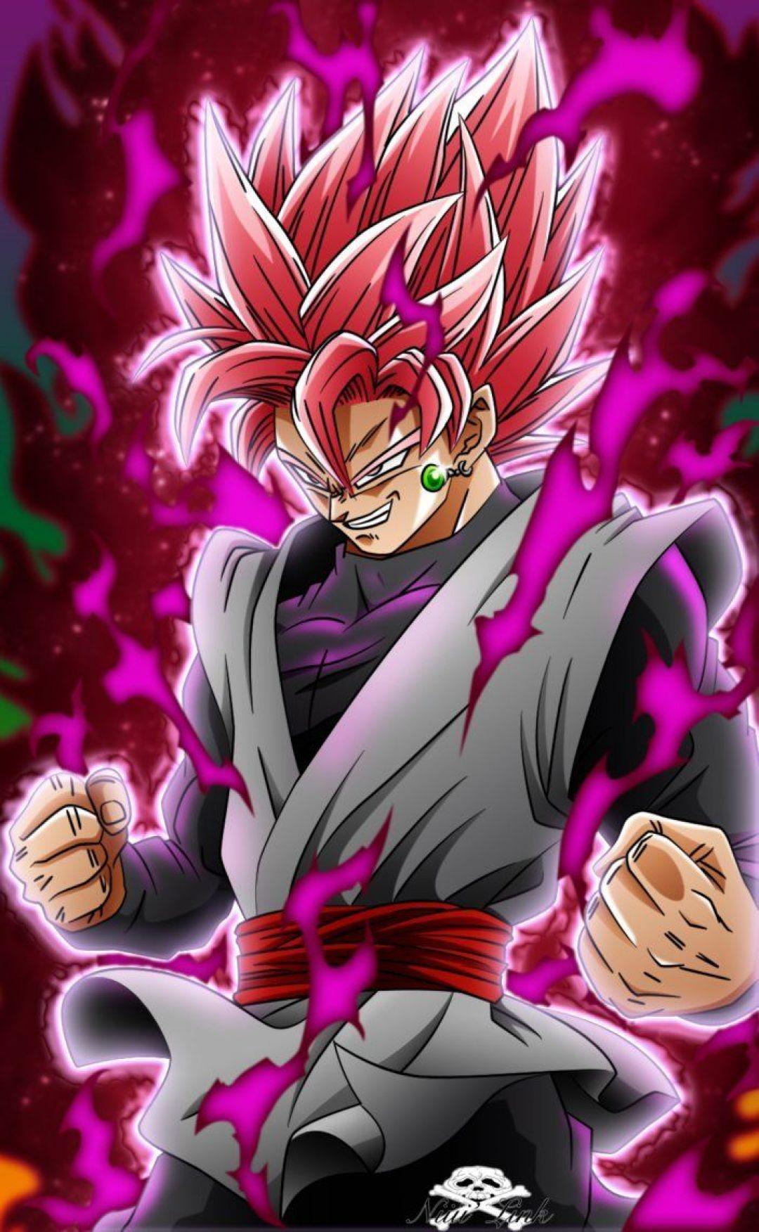Android Iphone Desktop Hd Backgrounds Wallpapers Black Goku Ssj Rose Manga 1080x1752 Download Hd Wallpaper Wallpapertip