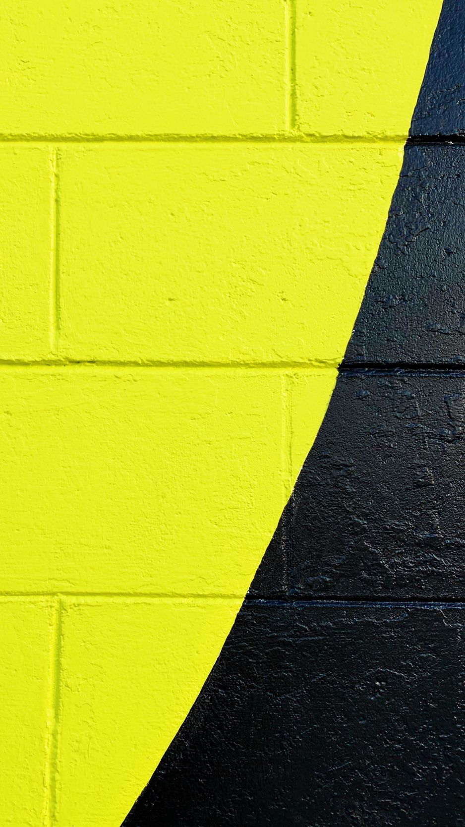 Wallpaper Wall Paint Surface Yellow Black Yellow And Black Background Iphone 938x1668 Download Hd Wallpaper Wallpapertip