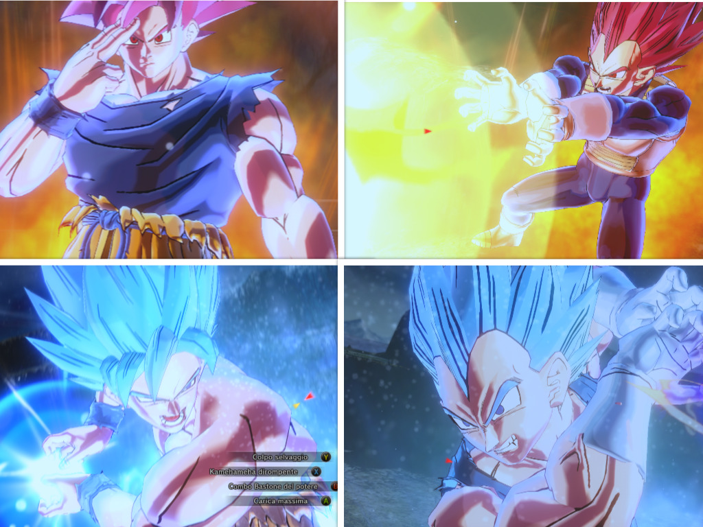 Xenoverse 2 Dbs Broly Goku 1024x768 Download Hd Wallpaper Wallpapertip