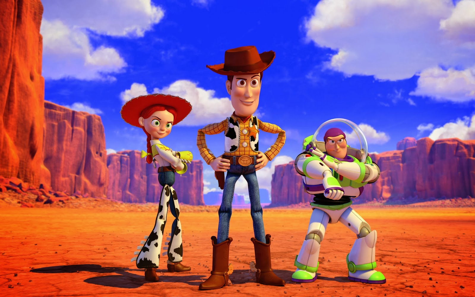Disney Character Wallpaper Toy Story 3 Woody Buzz Jessie 1600x1000 Download Hd Wallpaper Wallpapertip