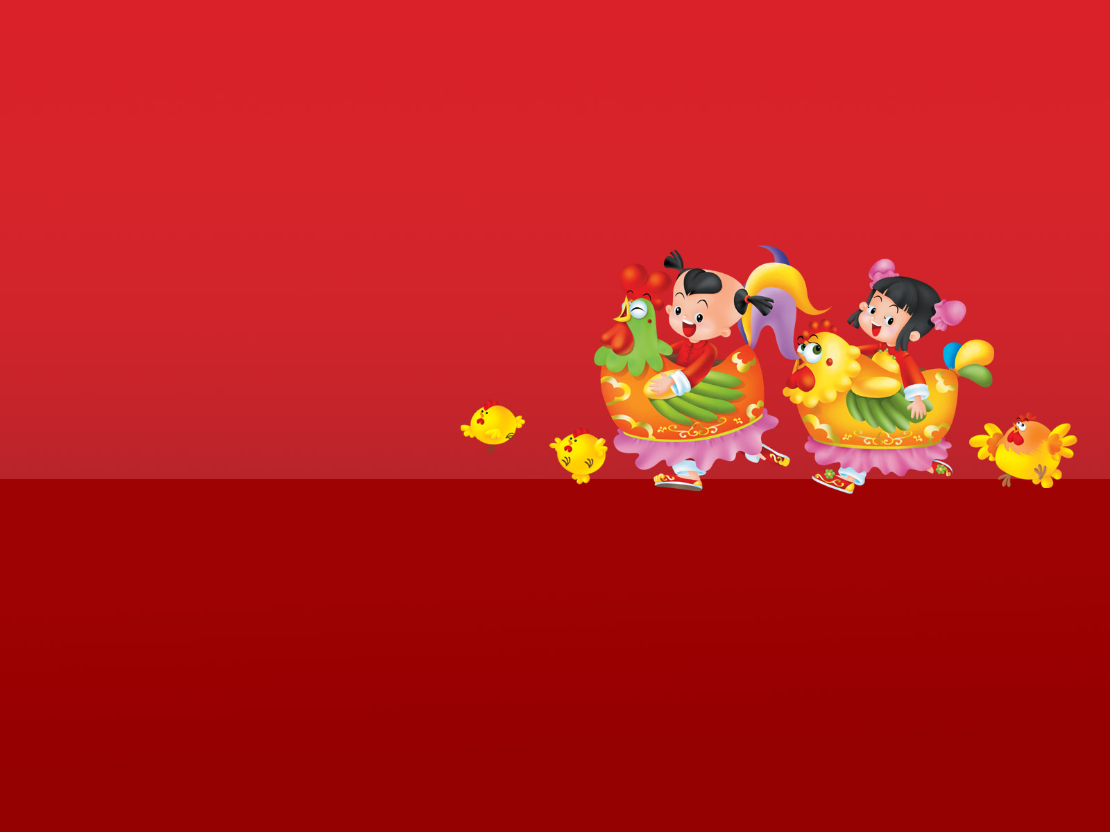 New Cartoon Wallpapers Chinese New Year Background 1600x1200 Download Hd Wallpaper Wallpapertip