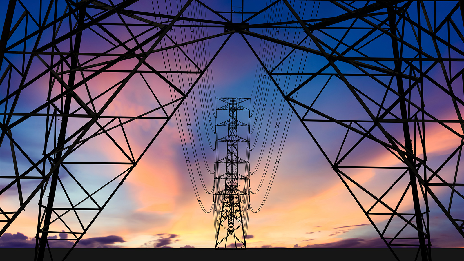 Electrical Transmission Lines Power Grid 1600x900 Download Hd Wallpaper Wallpapertip