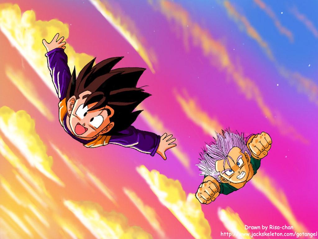 Dragon Ball Z Goten And Trunks 1024x768 Download Hd Wallpaper Wallpapertip