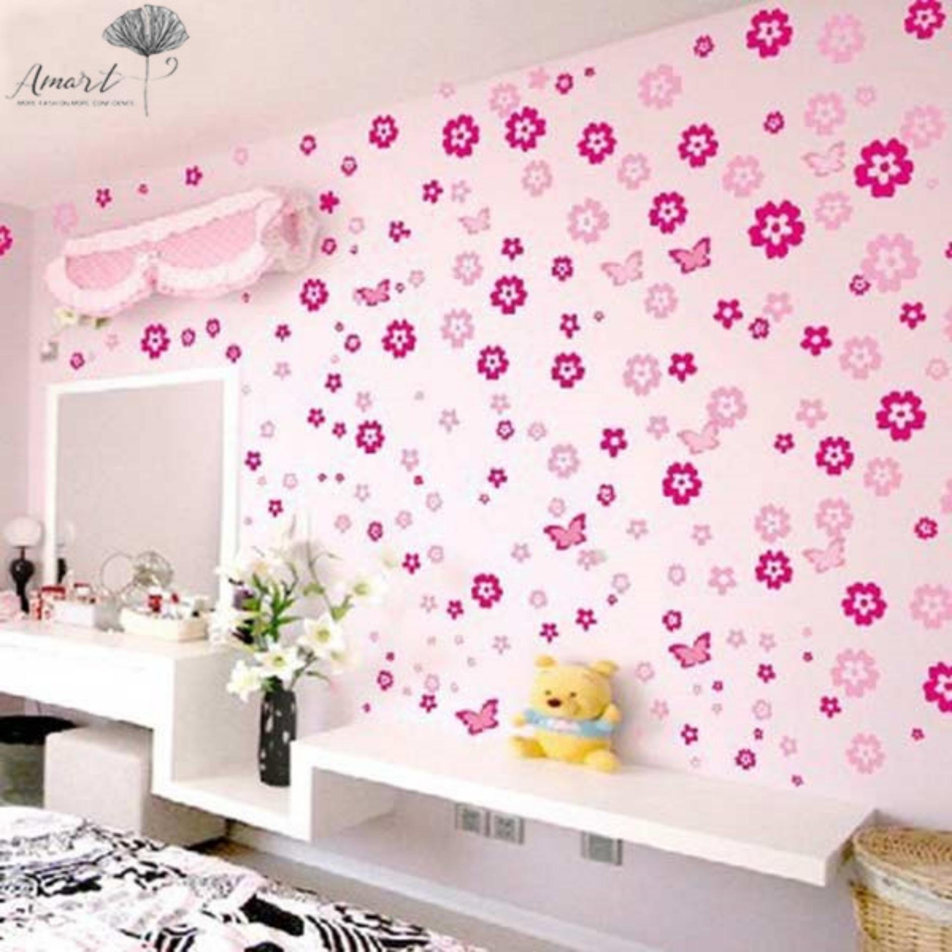 Gambar Wallpaper Dinding Ruang Tamu Minimalis Harga Bedroom Floral Print Wall Stickers 1920x1920 Download Hd Wallpaper Wallpapertip
