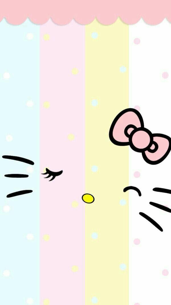 Background Cute Hello Kitty 600x1067 Download Hd Wallpaper Wallpapertip