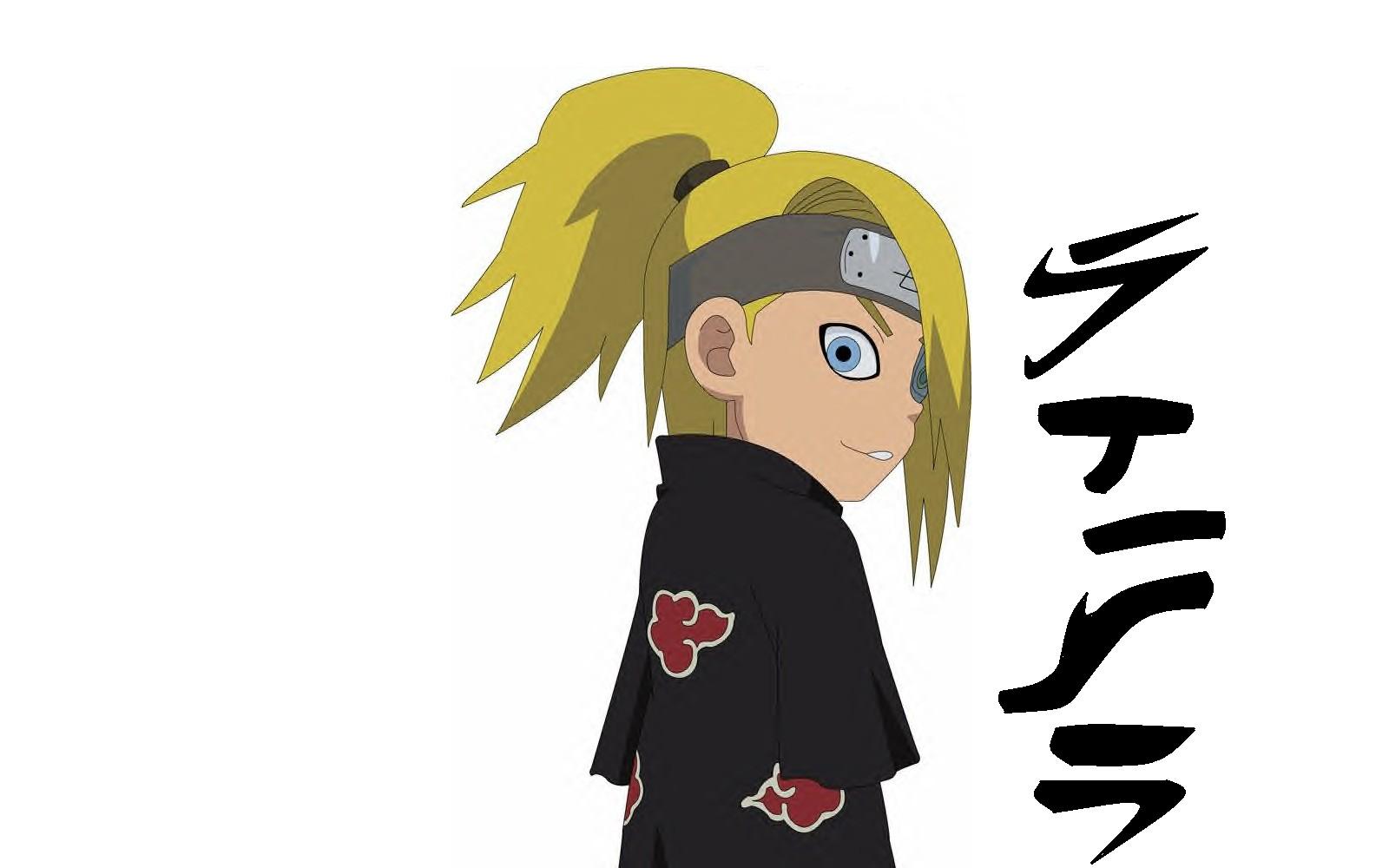 Chibi Naruto Wallpaper Chibi Naruto Akatsuki Deidara Naruto Chibi Naruto Shippuden Anime 1600x1000 Download Hd Wallpaper Wallpapertip