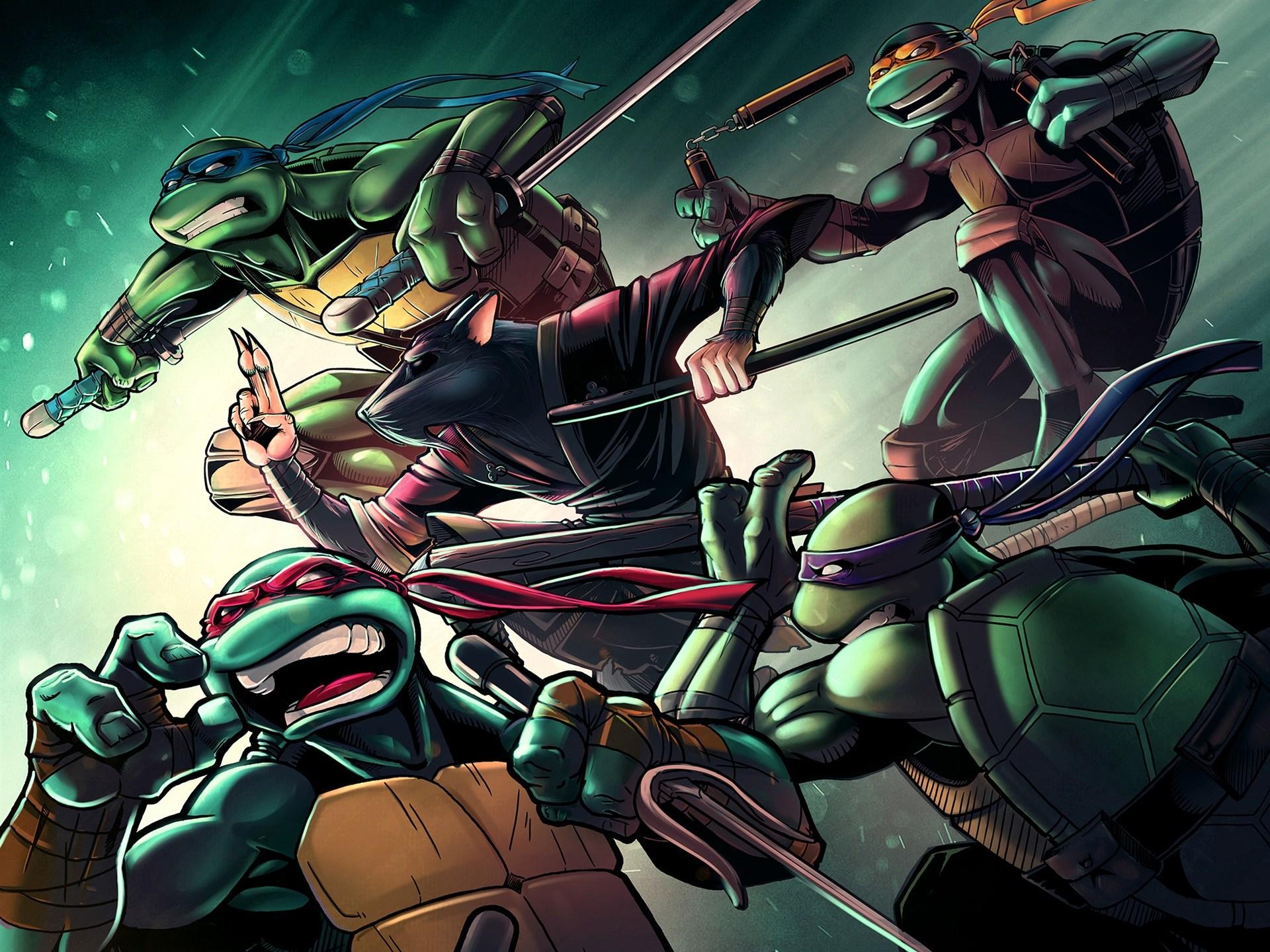 Download Kochou Shinobu Kimetsu No Yaiba Ninja Ninja Turtles Poster 1920x1440 Download Hd Wallpaper Wallpapertip
