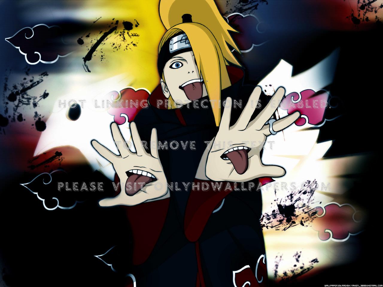 Naruto Shippuden Akatsuki Deidara Deidara Akatsuki 1280x960 Download Hd Wallpaper Wallpapertip