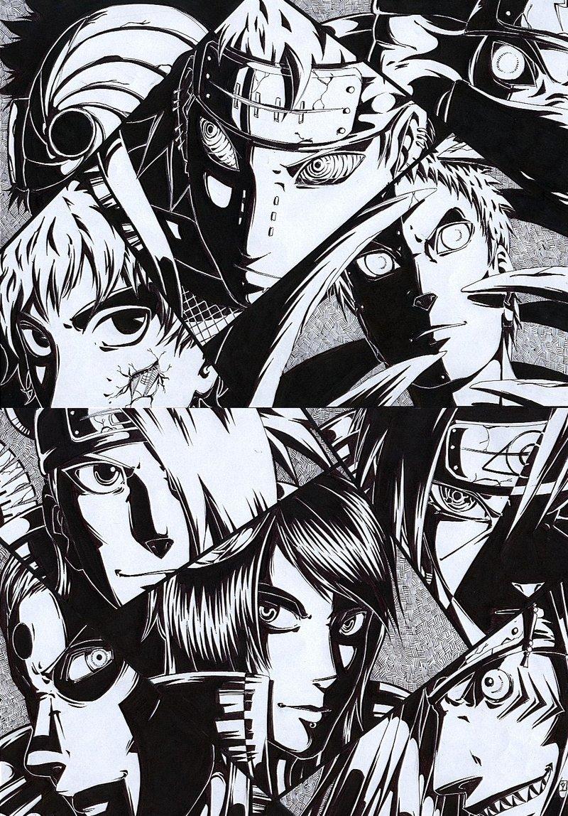 Uchiha Itachi Konan Deidara Sasori Pain And 5 Akatsuki Kisame Wallpaper Hd 800x1148 Download Hd Wallpaper Wallpapertip