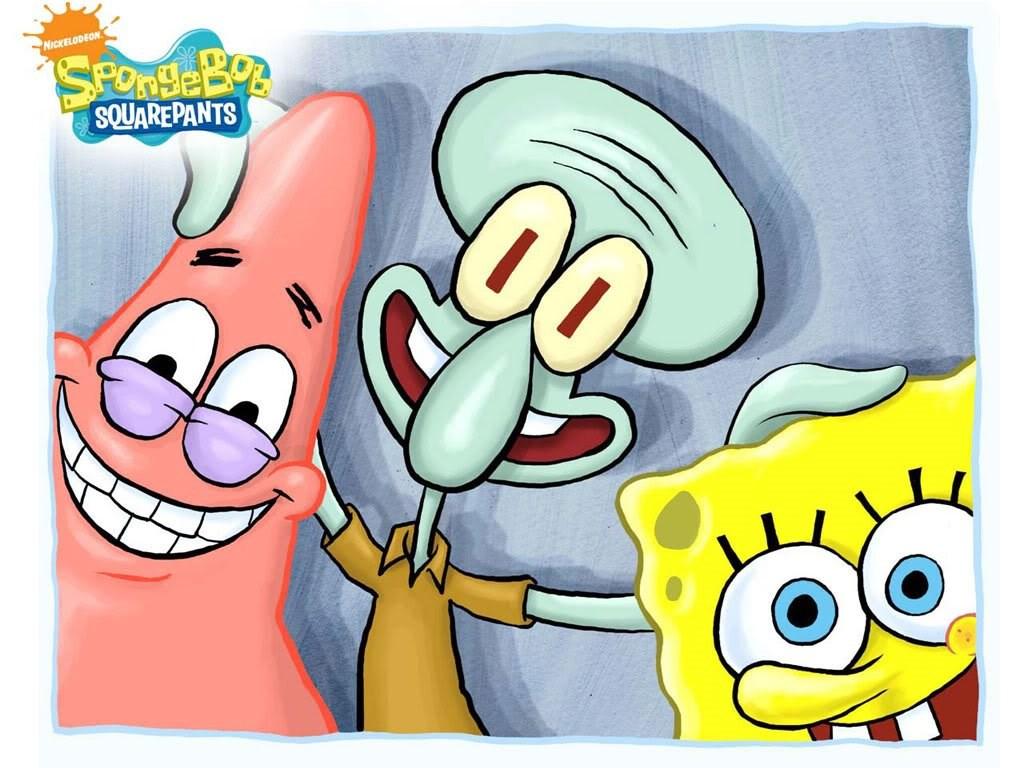 Wallpapers Yg Lucu Spongebob Squarepants Patrick Squidward 1024x768 Download Hd Wallpaper Wallpapertip