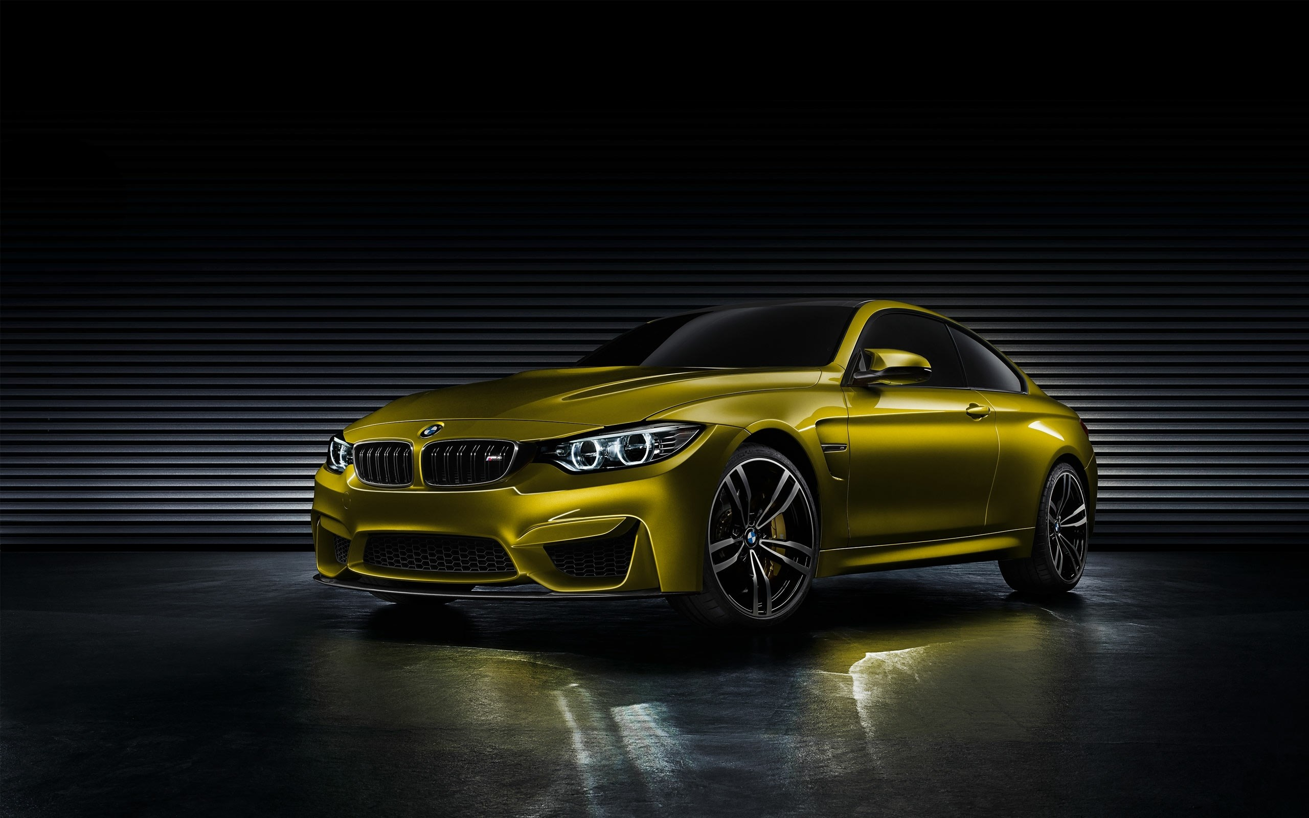 Bmw M4 Coupe Concept Car Front 2560x1600 Download Hd Wallpaper Wallpapertip