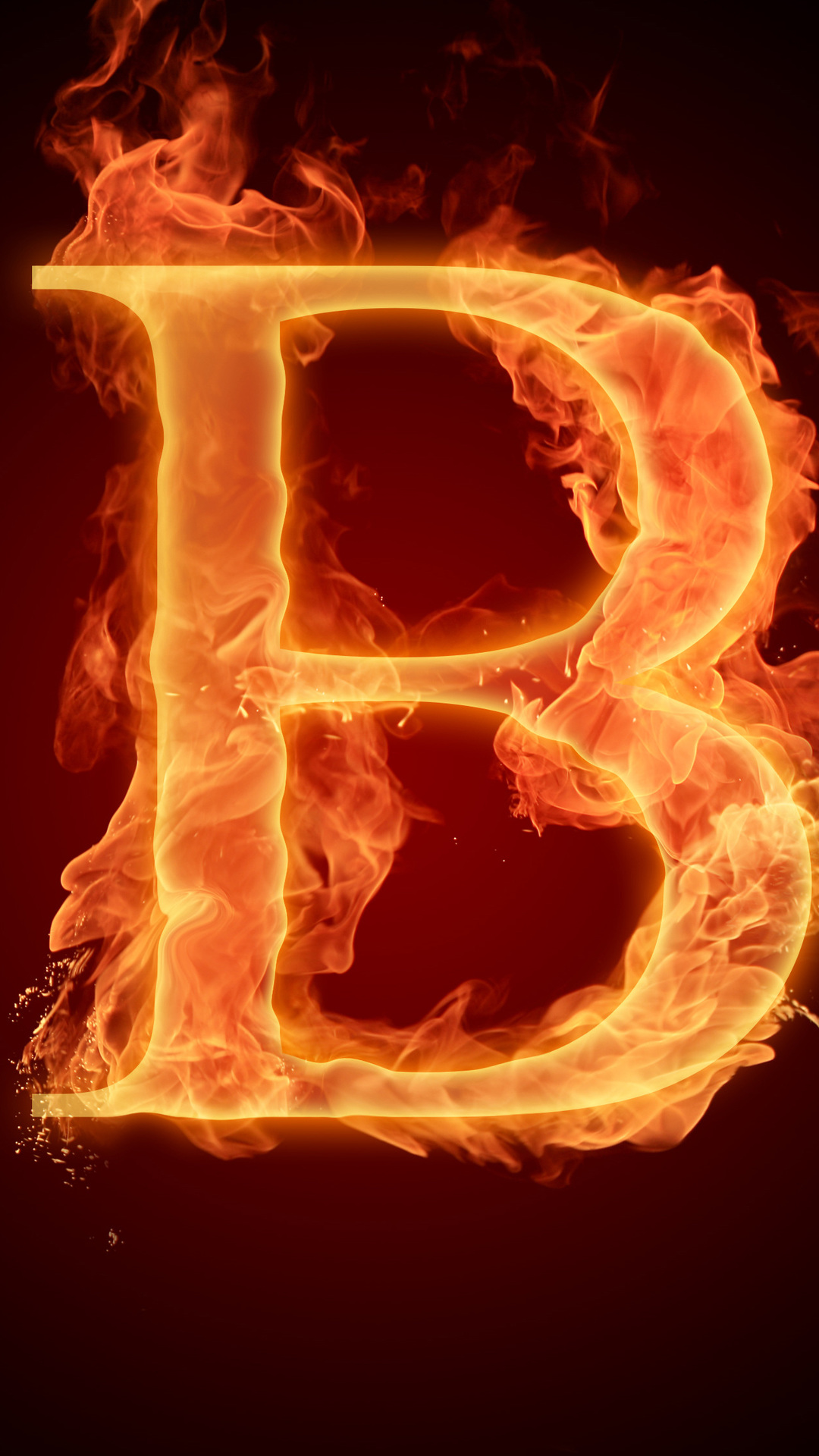 Fire Flame Litera Alphabet B Letter Photo B Letter Wallpaper Download 1080x1920 Download Hd Wallpaper Wallpapertip