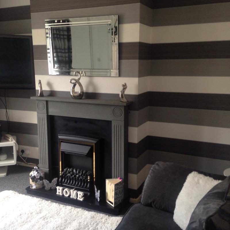 Wallpaper Designs For Living Room In