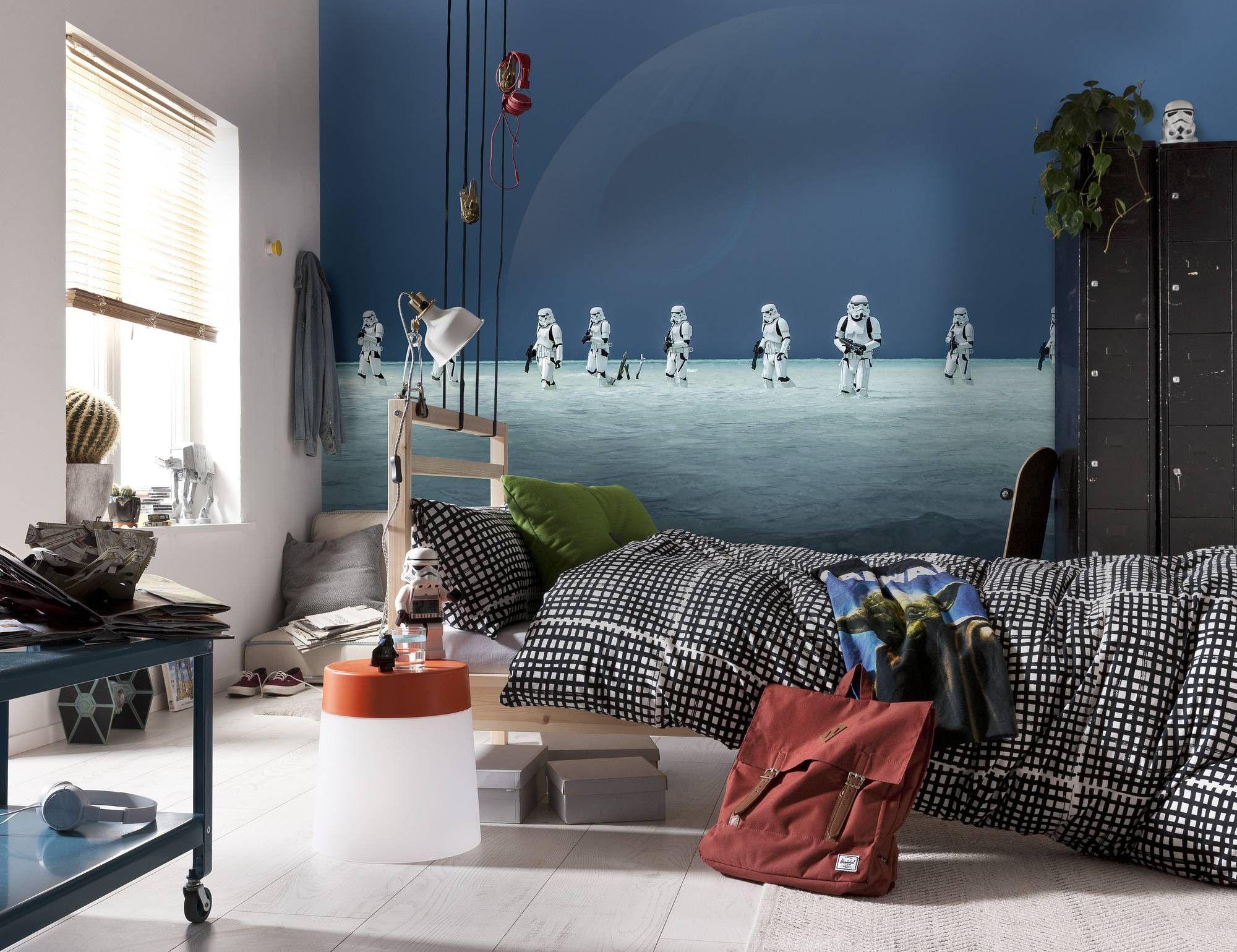 Star Wars Wall Mural 2000x1539 Download Hd Wallpaper Wallpapertip