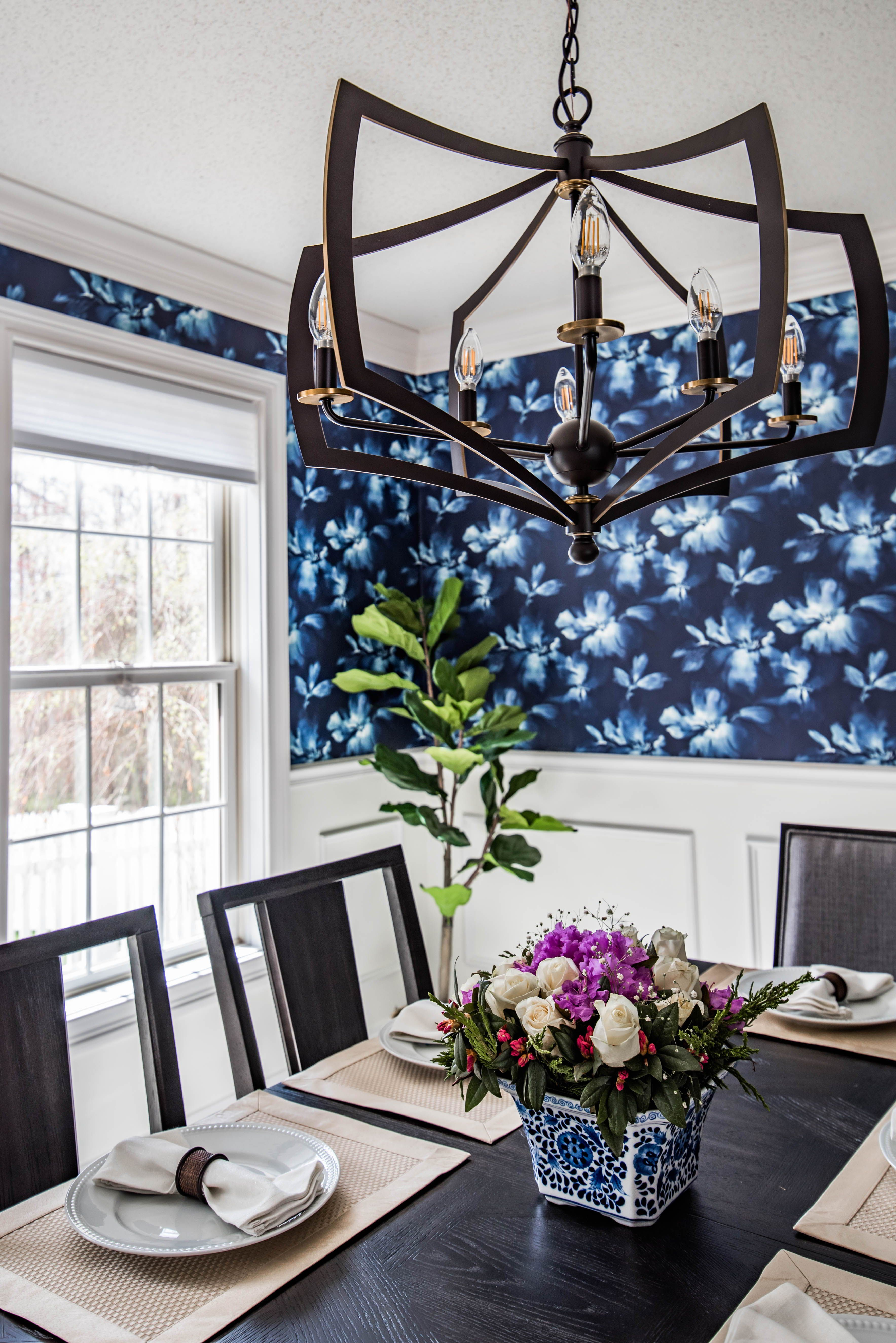 Dining Room With Chair Rail 2000x2996 Download Hd Wallpaper Wallpapertip