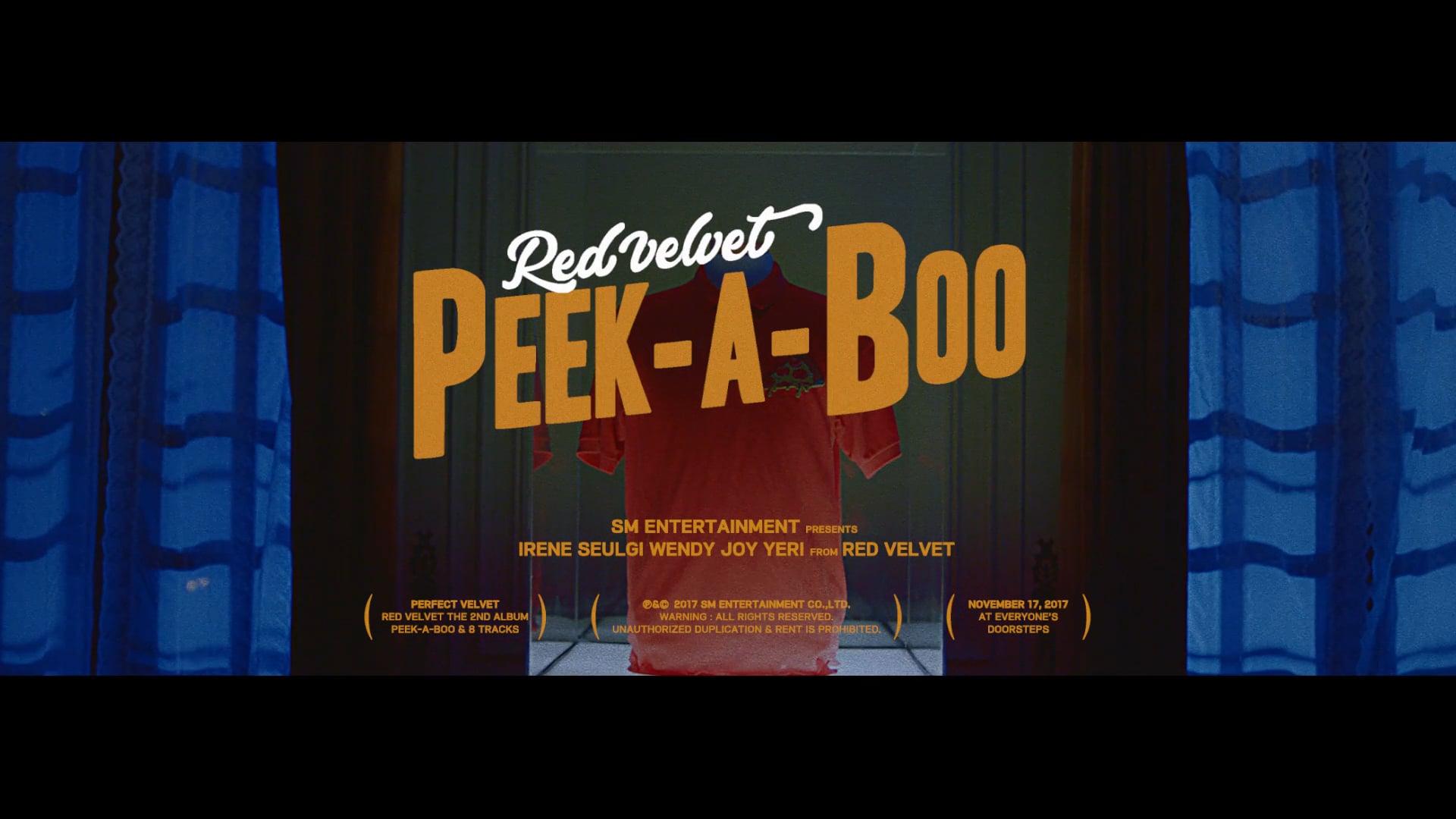 Red Velvet Peek A Boo Jpg Hd 1920x1080 Download Hd Wallpaper Wallpapertip