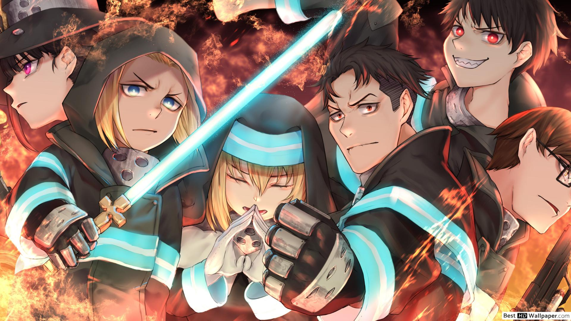Fire Force Wallpaper 4k 1920x1080 Download Hd Wallpaper Wallpapertip You can experience the version for other devices running on your device. fire force wallpaper 4k 1920x1080