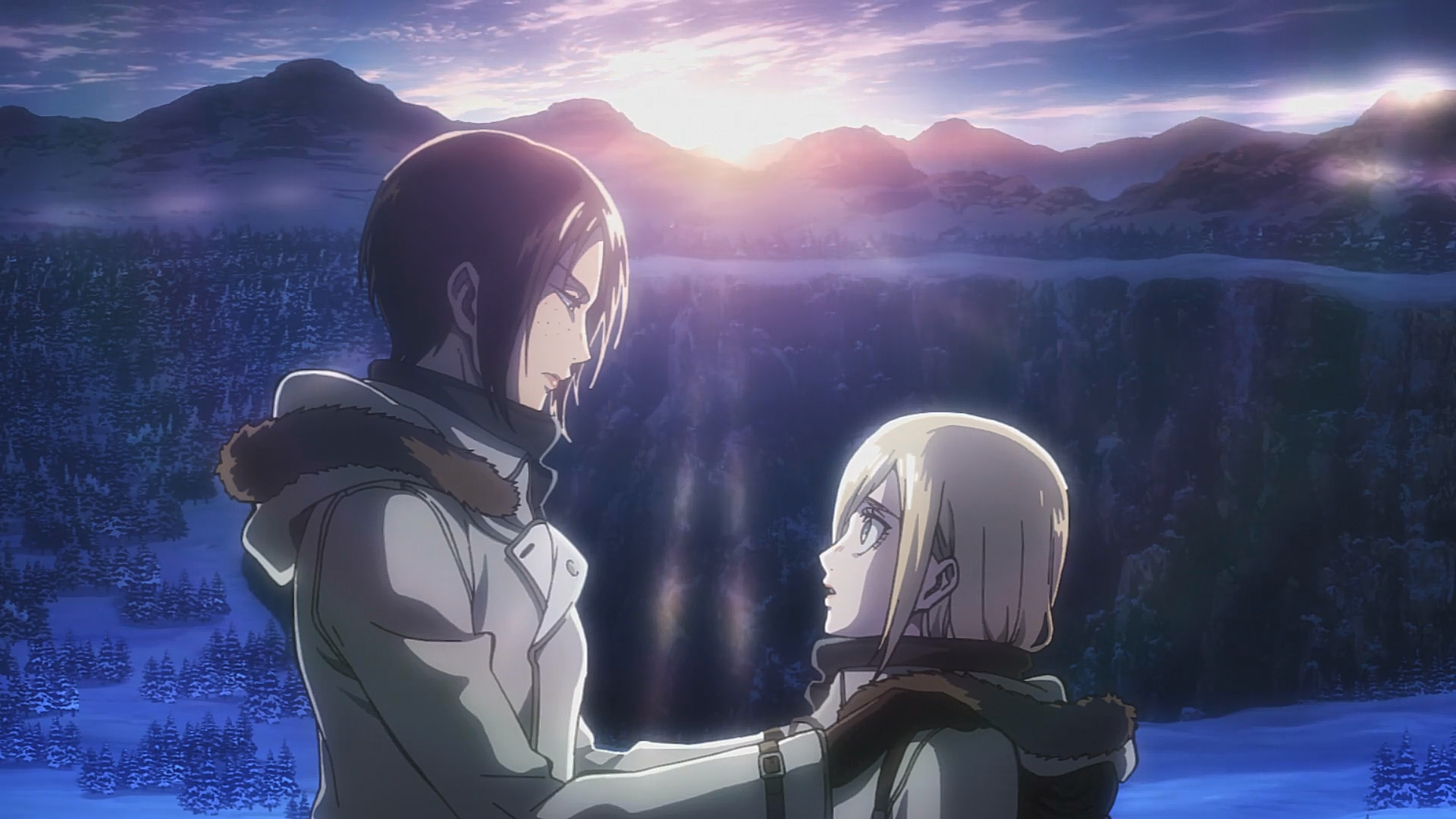 Attack On Titan Wiki Attack On Titan Ymir And Historia 1920x1080 Download Hd Wallpaper Wallpapertip