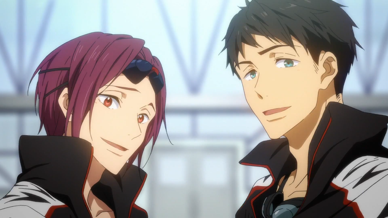 Free Eternal Summer Rin Matsuoka And Sousuke 1280x720 Download Hd Wallpaper Wallpapertip Your wallpaper has been changed. free eternal summer rin matsuoka and
